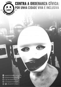 panfleto informativo ordenanza cívica Lugo